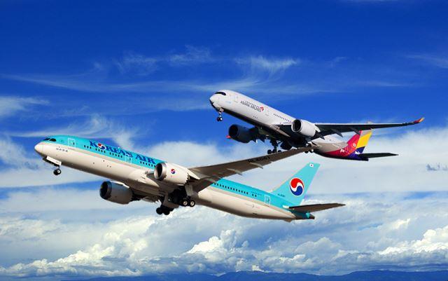대한항공 아시아나항공