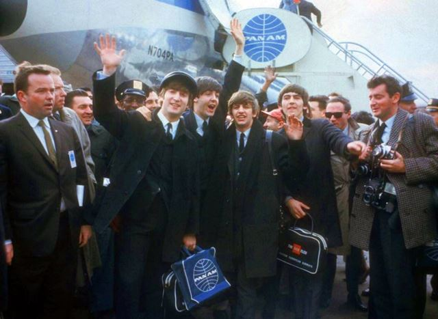 beatles jfk 1964