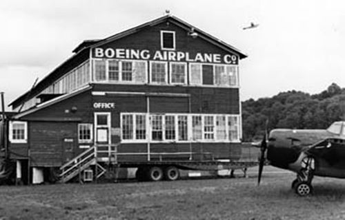 Boeing airplane company