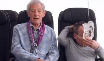 영국항공 기내 안전 비디오에 유명 배우 총출동