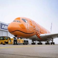 ANA 인도 A380 최종 테스트 비행 ·· 날지 못할텐데 ANA 고민 깊어져