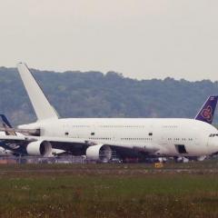 첫 A380 항공기 해체 모습 포착 ·· 초대형 항공기 시장 저물어