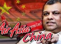 에어아시아, 마지막 퍼즐 중국에 항공사 설립