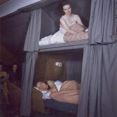 항공기 럭셔리 '침대 좌석' - 이미 90년 전 등장