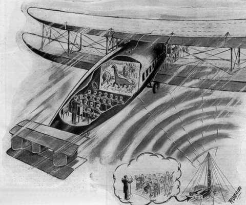 항공 기내 오락물, 영화는 언제부터? 그리고 미래?