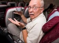 항공기 좌석 등받이는 얼마나 젖히면 적당한가?
