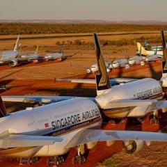 비행기 무덤 가득 차 ·· 코로나19 사태 속 날지 못하는 항공기 급증