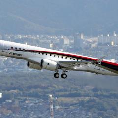 日 MRJ, 7월 판버러 에어쇼에서 데모 비행 계획