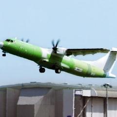 터보프롭 ATR 72 화물 전용기 시험 비행 성공