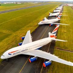 영국항공, 코로나 영향 A380 절반 항공기 묘지 이동? 나머지도?