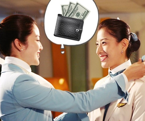 객실 사무장은 지갑(Purse)과 무슨 관계?