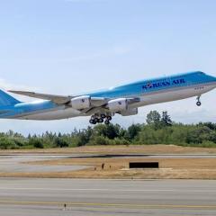 대한항공, B747-8i 화물 수송 투입 ·· 아예 화물기로 개조할까?