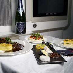 영국항공, 일등석 기내식 '집에서 즐기자' ·· 가격은 '헉'