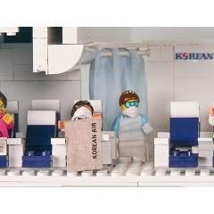 코로나19 시대, '대한항공' 기내 방역 레고(Lego) 애니메이션