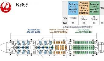 JAL·ANA, 같거나 다른 B787 항공기 운용 전략