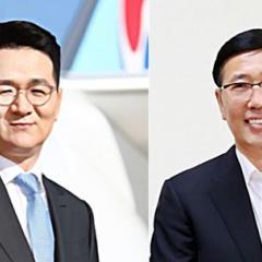 KAL-아시아나 통합, 조원태 '시대적 사명' 아시아나 대표 '통합 발판 노력'