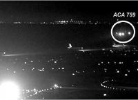 샌프란시스코 유도로 착륙 시도 사고, 위기일발 사진 공개