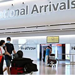 영국, 입국 후 격리기간 10일로 단축 이유는?