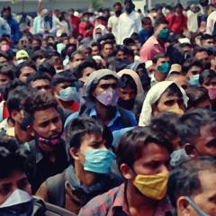 코로나 폭발 인도 탈출한 교민 172명 귀국