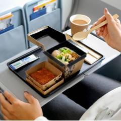 싱가포르항공, 이코노미 기내식 종이 박스밀 형태로 변경