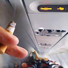 항공기내 불법 행위 대부분 '흡연 행위' ·· 5년간 약 1700건