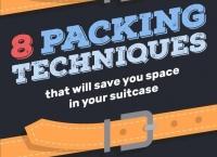 그림으로 본, 여행 가방 잘 싸는 방법 8가지