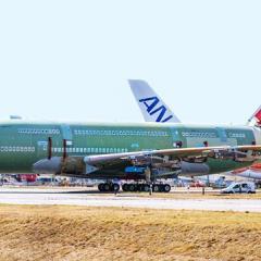 마지막 A380 항공기 조립 ·· 초대형 항공기 시대 저물어