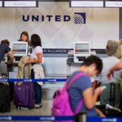 유나이티드항공, 오버부킹 경매 프로그램 개시