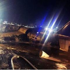 도쿄행 의료진 태운 항공기 마닐라 공항 이륙 직후 추락, 전원 사망