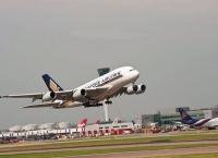 첫 A380 기재(9V-SKA), 지난 6월 런던을 마지막으로 비행 제외