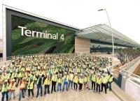 싱가포르공항 4터미널 10월 31일 오픈, 대한항공 운항