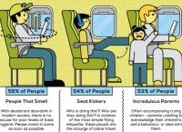 사람들이 싫어하는 21가지 기내 승객 유형(야후 트래블)