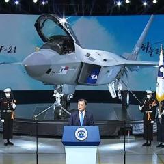 최초 국산 제트 전투기 KF-X 공개(Roll-out) ·· KF-21 보라매