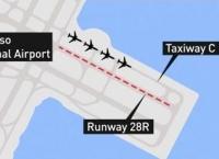 사상 최악 항공참사 날뻔, 유도로로 착륙하려던 에어캐나다 항공기