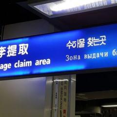 전 세계 공항 대상 '엉터리 한글 수정 캠페인' 벌인다