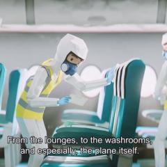 3대 항공동맹체 공동으로 '코로나 시대 안전한 여행' 동영상 공개