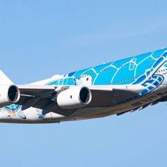 ANA, 크리스마스 시즌 A380 목적지 없는 비행편 운항