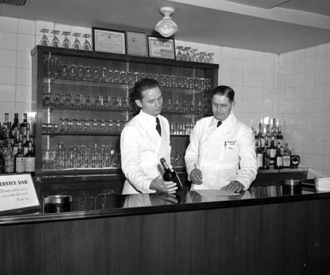 사상 최초의 항공사 공항 라운지 'Admirals Club'
