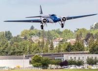 83세 비행기(보잉 247)의 마지막 비행