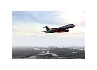 US Airways 1549 항공편 비상착륙 행적 시뮬레이션