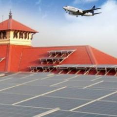인도, 모든 공항 태양광 시스템 설치