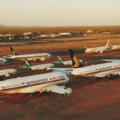 싱가포르항공, A380 항공기 '2대 더' 호주 비행기 무덤으로