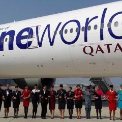 카타르항공, 원월드 탈퇴 의사 밝혀